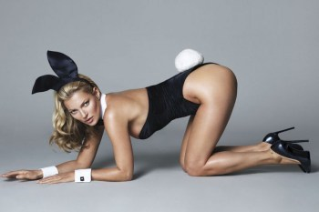 The First Look at Kate Moss as a Playboy Bunny
