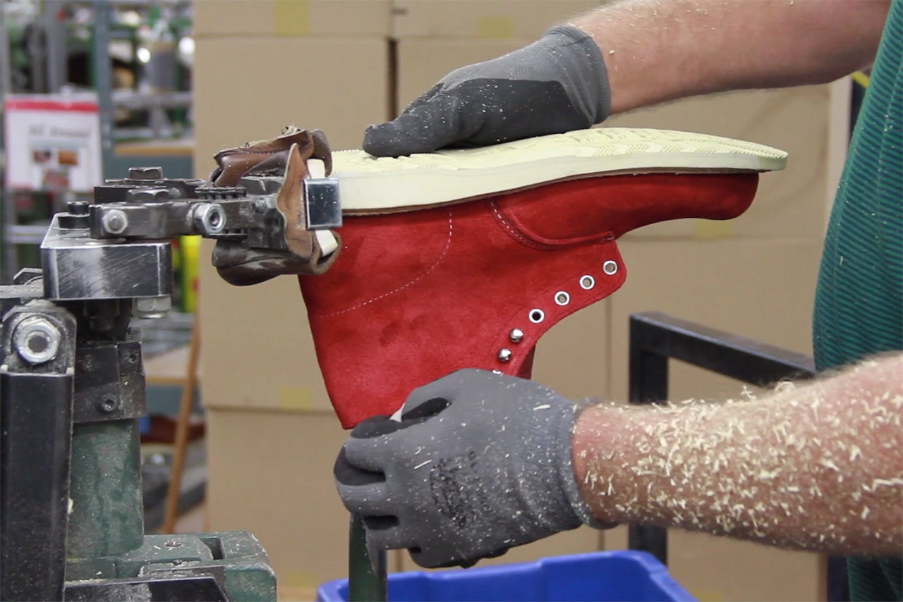 the making of the concepts for red wing boot video