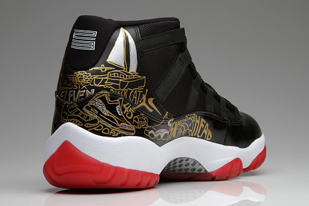 Tinker Hatfield's Custom Pair of Air Jordan 11s for Sole Collector's Steve Mulholland