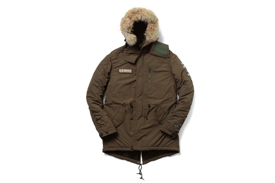 uniform experiment 2013 Fall/Winter Padded Mods Coat