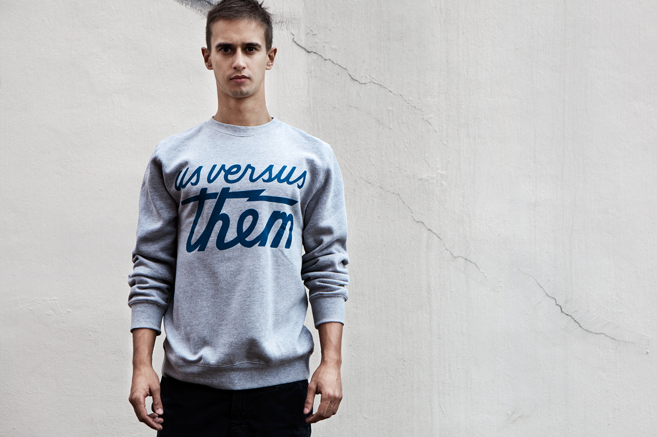 us versus them 2013 fallwinter collection