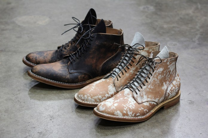Viberg Boot Painted Horsehide Service Boots