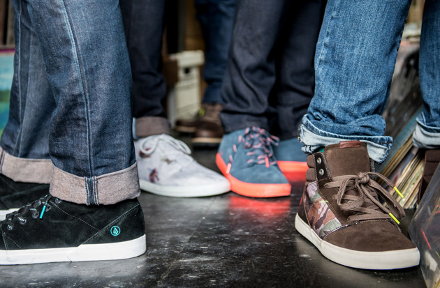 Volcom Footwear 2013 Holiday Collection