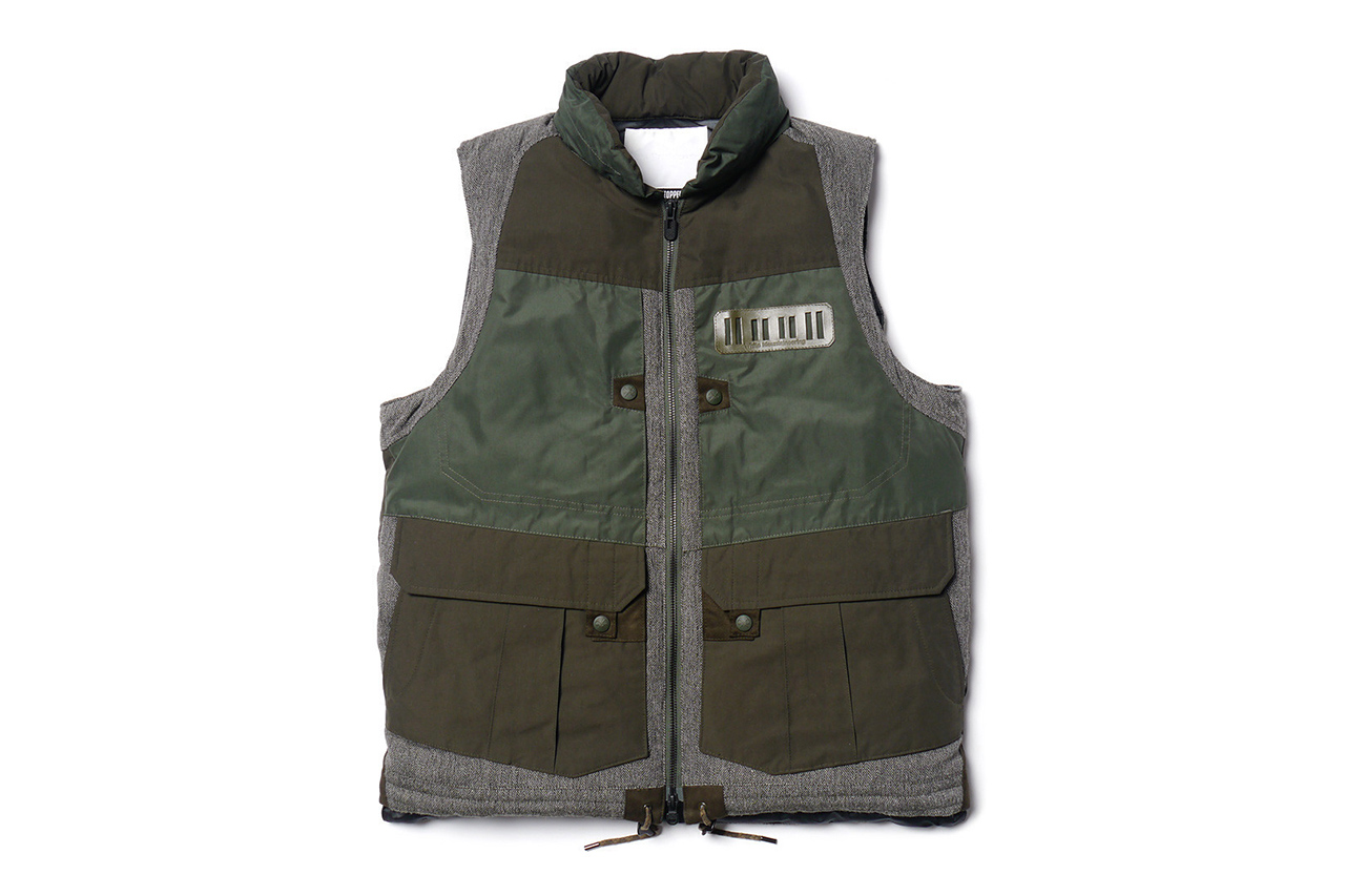 White Mountaineering WINDSTOPPER® Memory Weather Micro Peach Luggage Vest