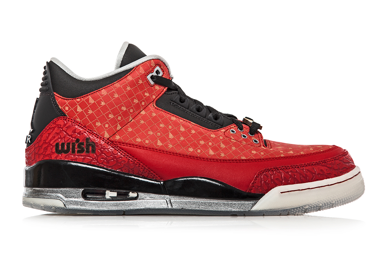 "Wish x Air Jordan 3 Retro ""Doernbecher"" Special 1-of-1 Edition"