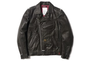 WTAPS Leather Riders Jacket