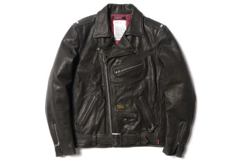 WTAPS Leather Riders Jacket