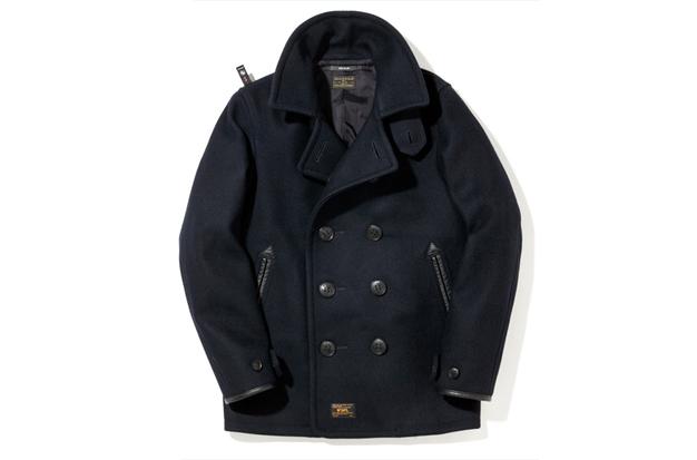 wtaps pea coat
