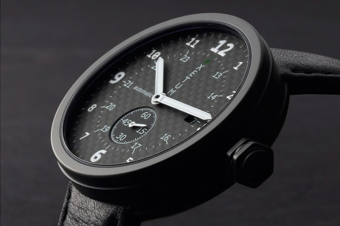 Xetum Tyndall PVD Carbon Limited Edition Watch