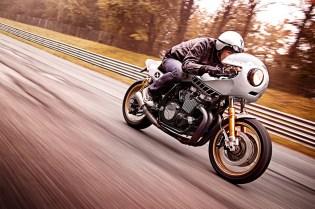 "Yard Built Yamaha XJR1300 ""Eau Rouge"" by Deus Ex Machina Italy"