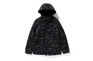 A Bathing Ape 1st Camo Short Duffle Coat