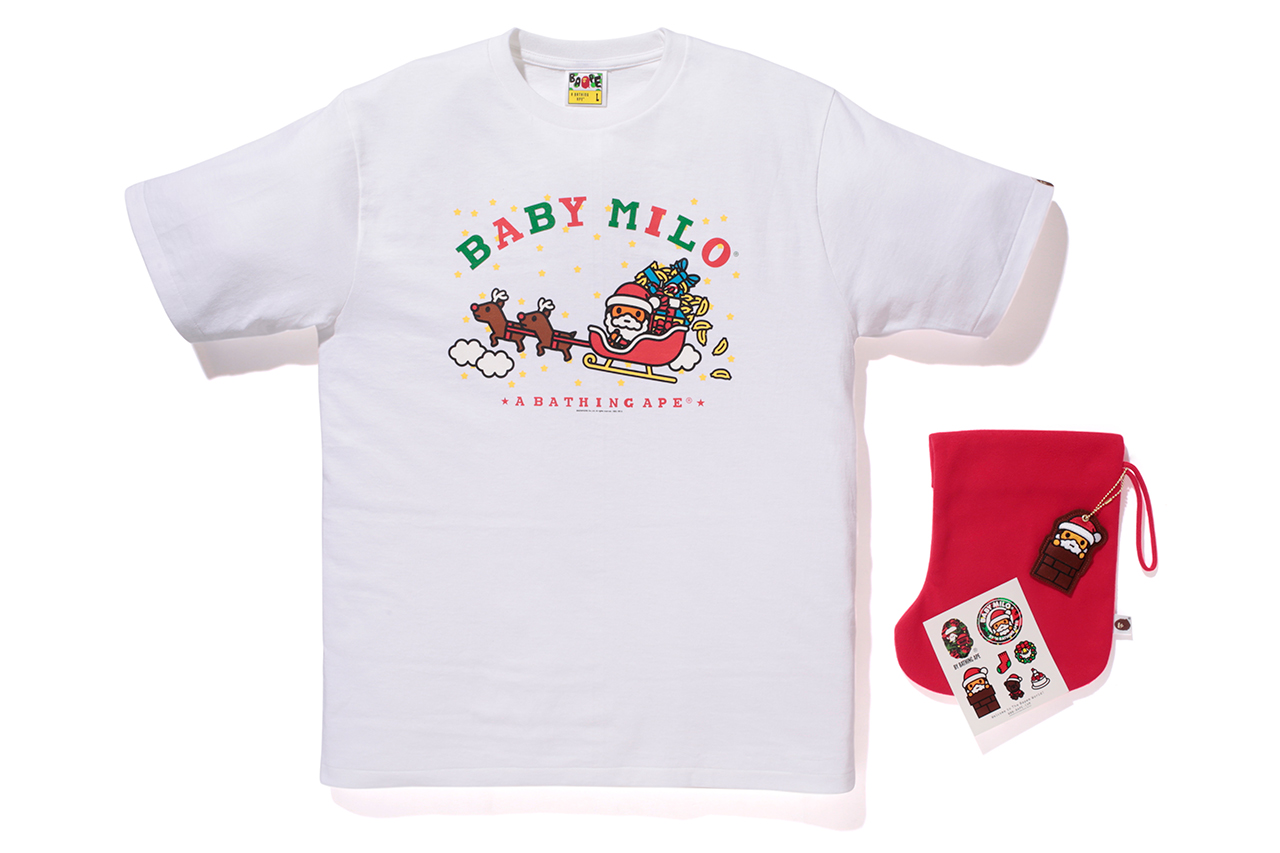a bathing ape baby milo christmas collection