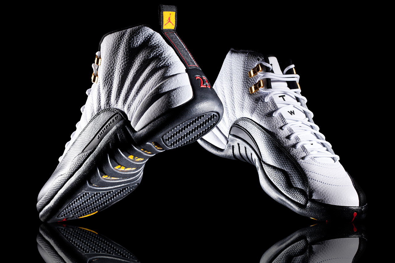 a closer look at the air jordan 12 retro taxi