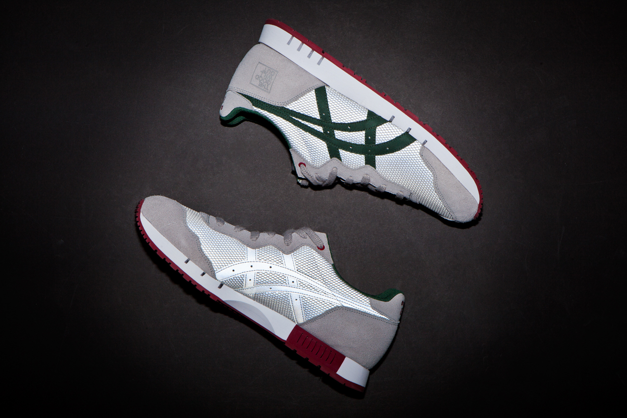 "A Closer Look at The Good Will Out x Onitsuka Tiger X-Caliber ""Silver Knight"""