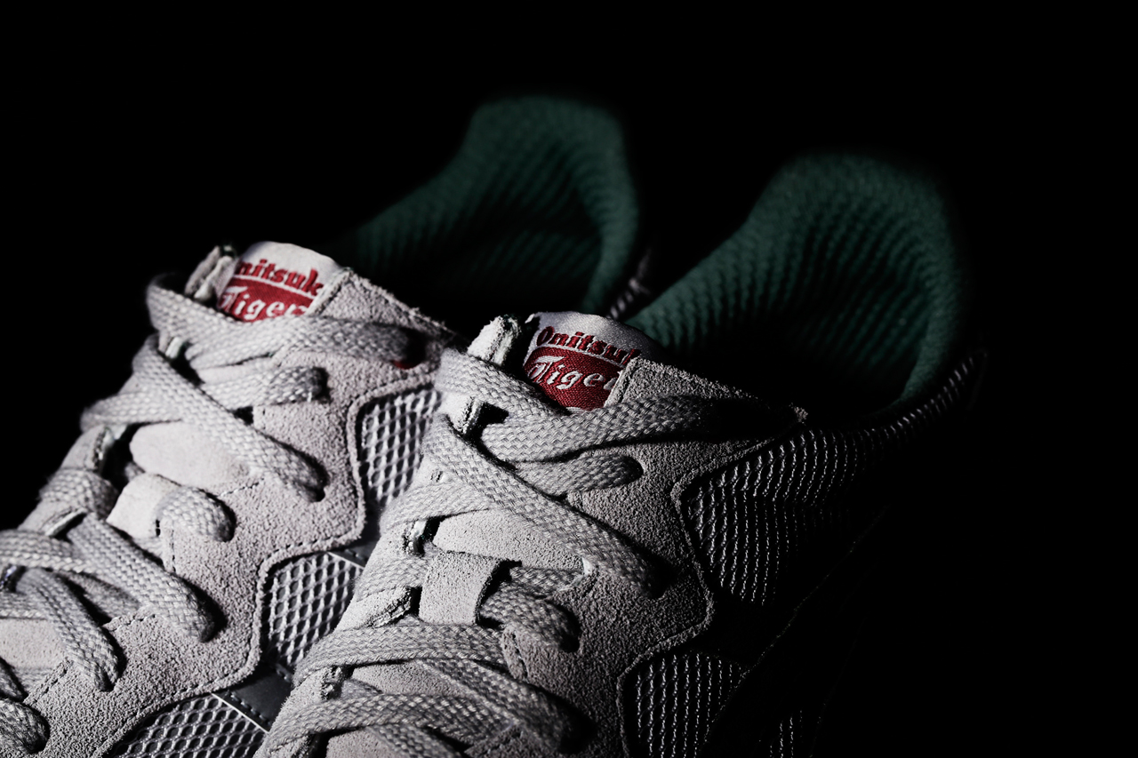 a closer look at the good will out x onitsuka tiger x caliber silver knight