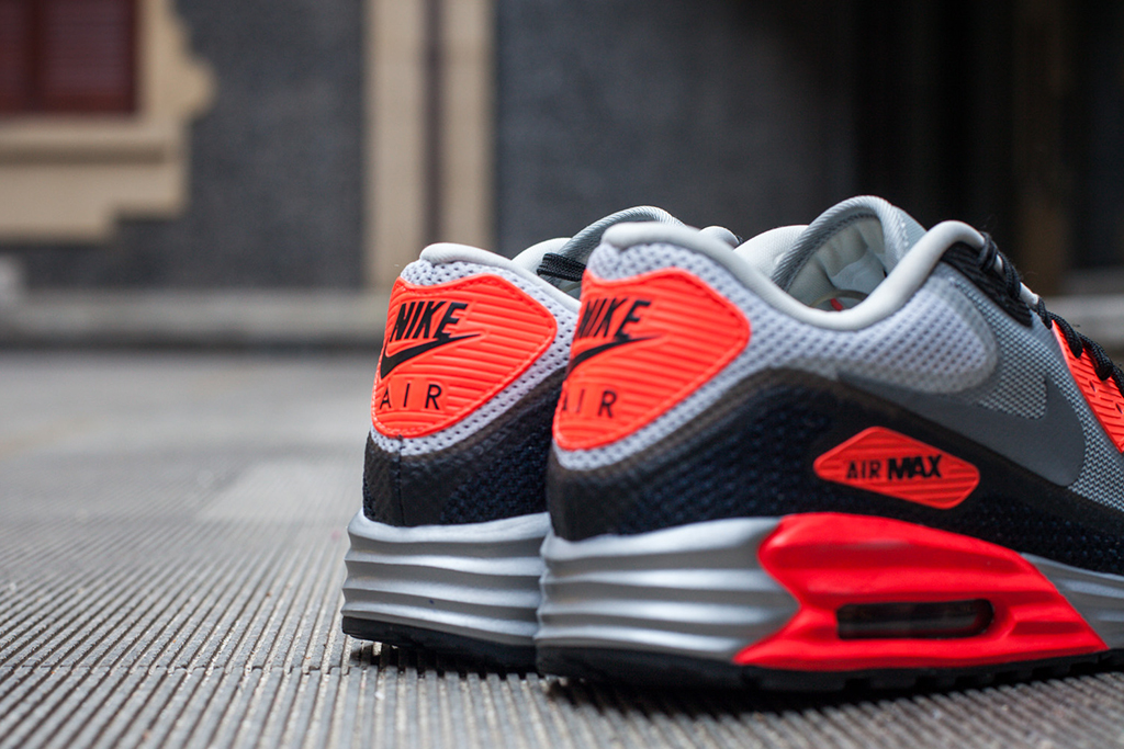 a closer look at the nike air max lunar90 infrared hypebeast. Black Bedroom Furniture Sets. Home Design Ideas