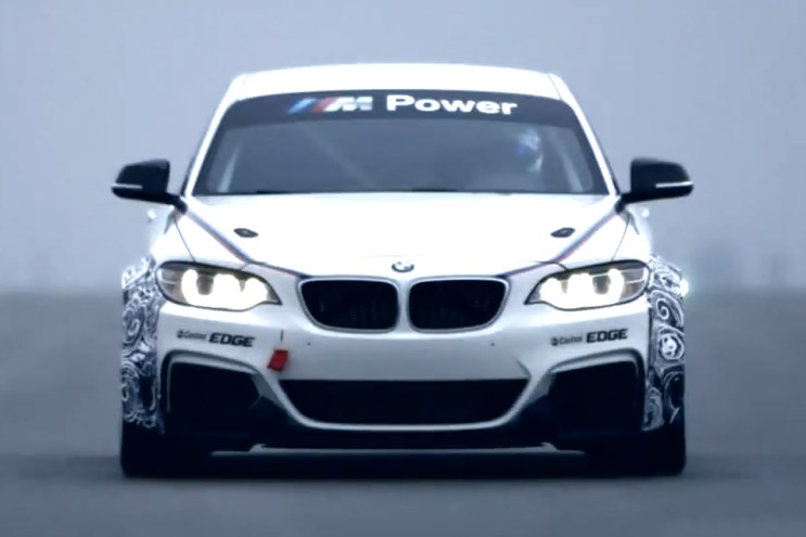 A First Look At the BMW M235i Racing