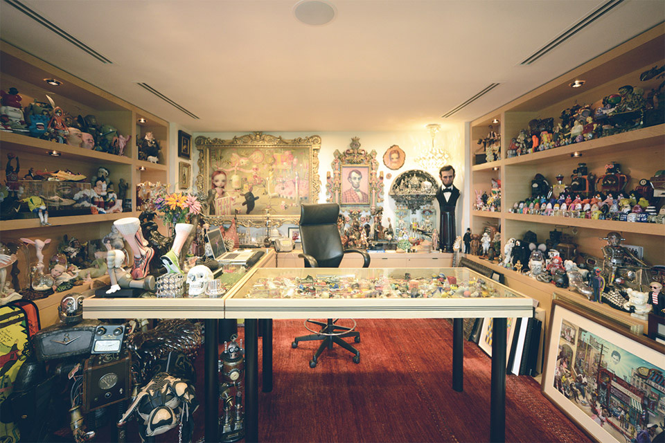 a look inside nike ceo mark parkers office