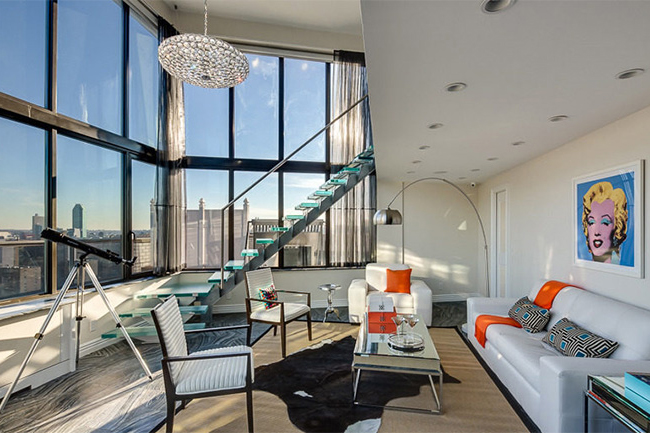 a look inside of frank sinatras new york penthouse