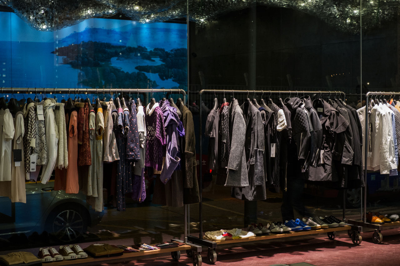 a look inside the new undercover hong kong store