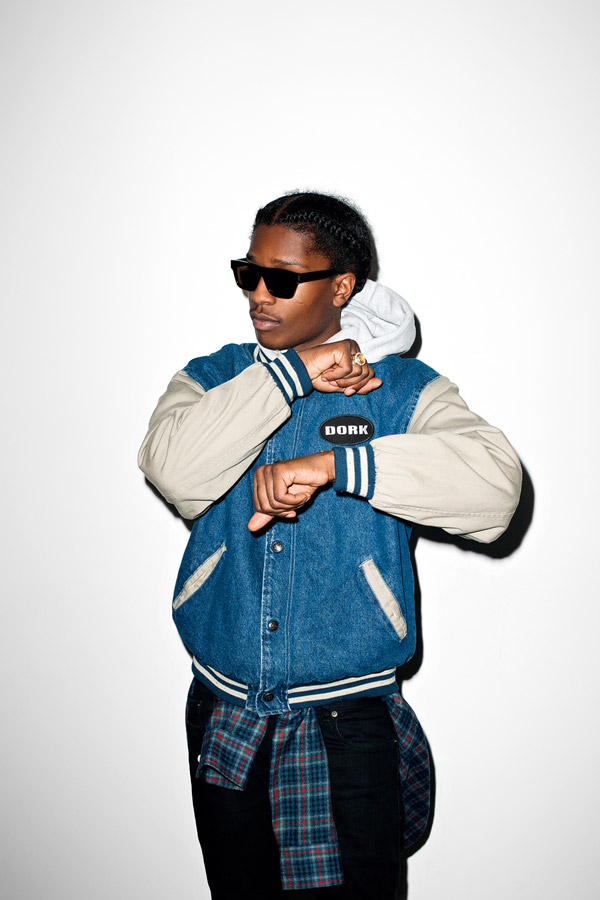 A$AP Rocky by Terry Richardson for Purple Magazine