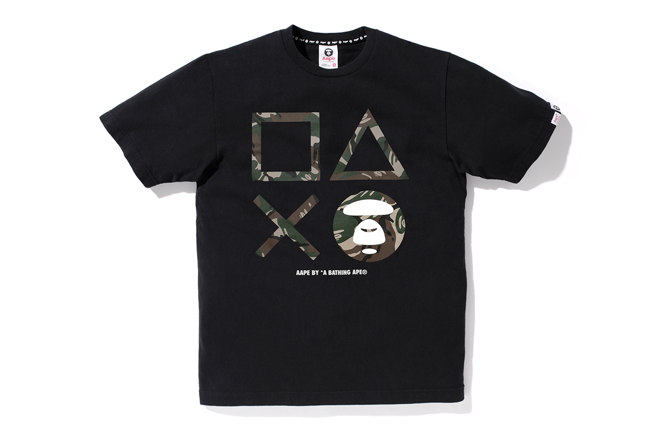 aape by a bathing ape x playstation 4 2013 capsule collection
