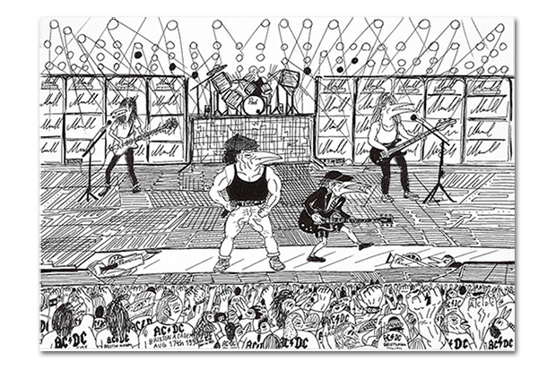 AC/DC Fan and Artist Abdul Vas Talks About His Favorite Brand and Karma