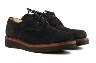 Ace Boots for Self Edge Black Oxford
