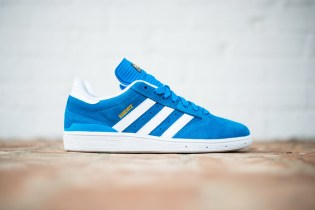 adidas Busenitz Solar Blue/White