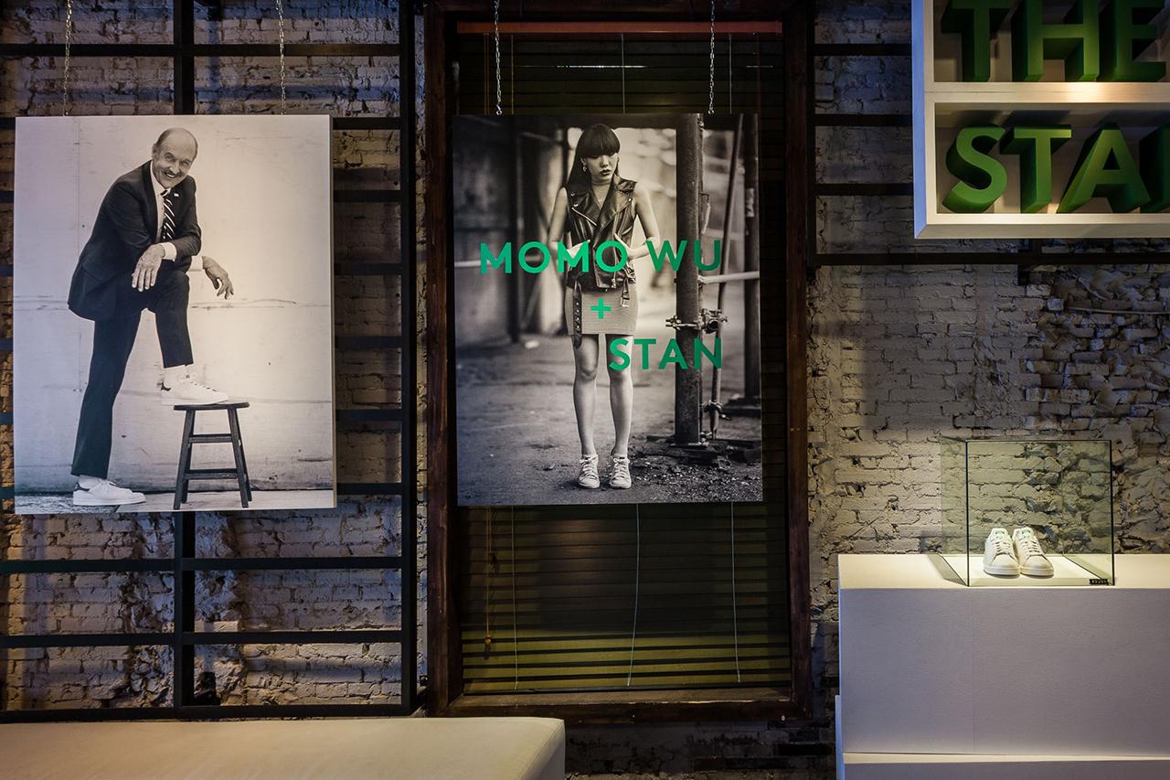 adidas originals the stan smiths return of the classic exhibition dahood shanghai recap
