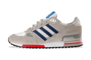 adidas Originals ZX 750 Chrome/Running White/Dark Slate