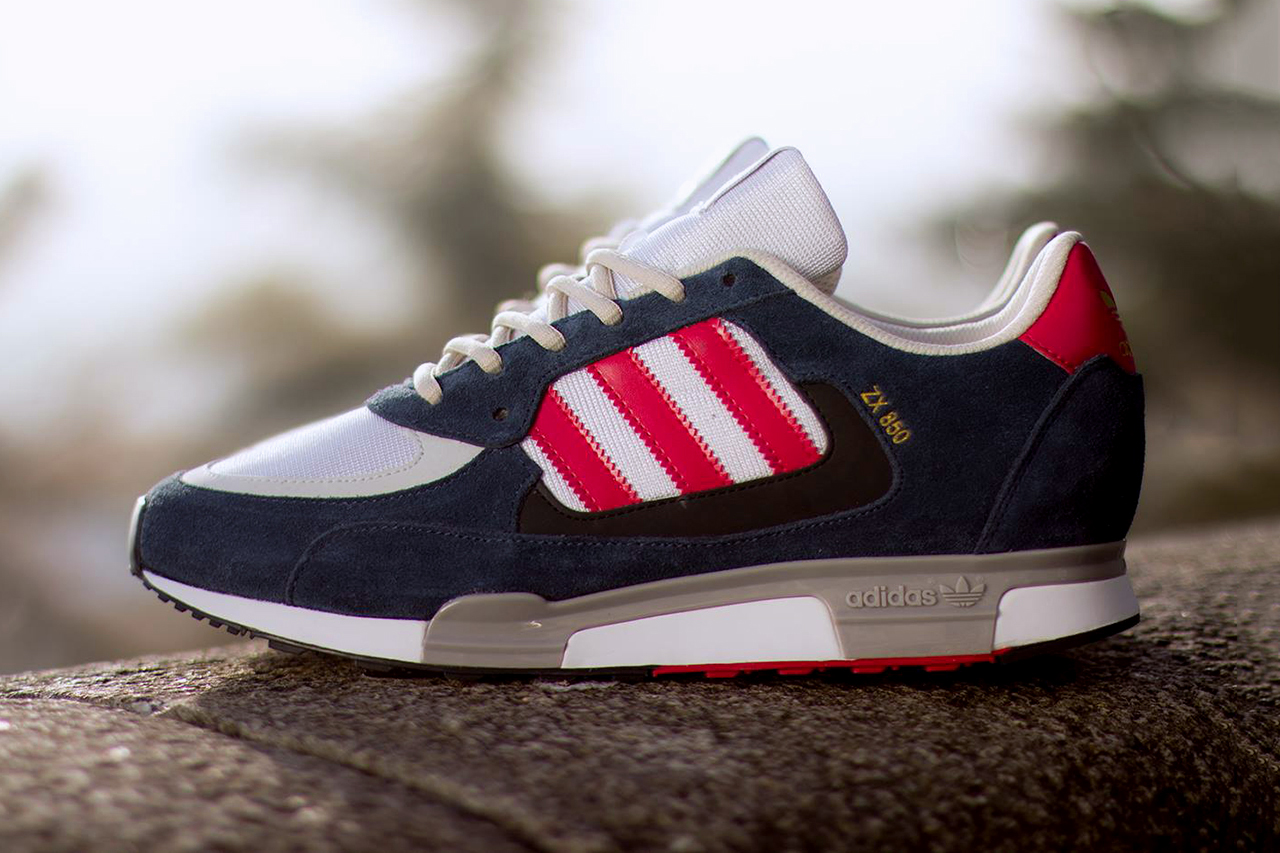 adidas originals zx 850 new navyrunning whitered