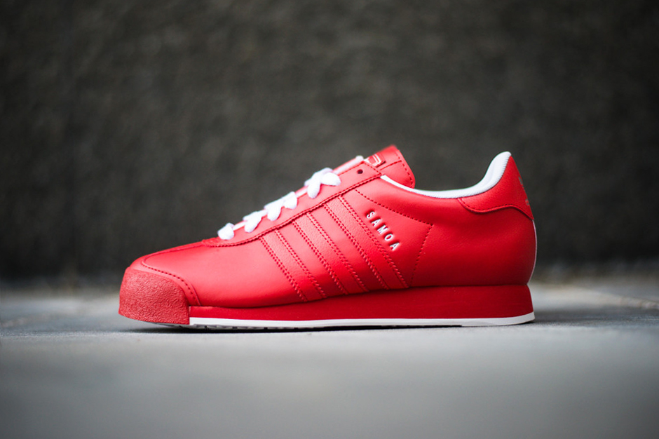 adidas Originals Samoa Poppy/Run White