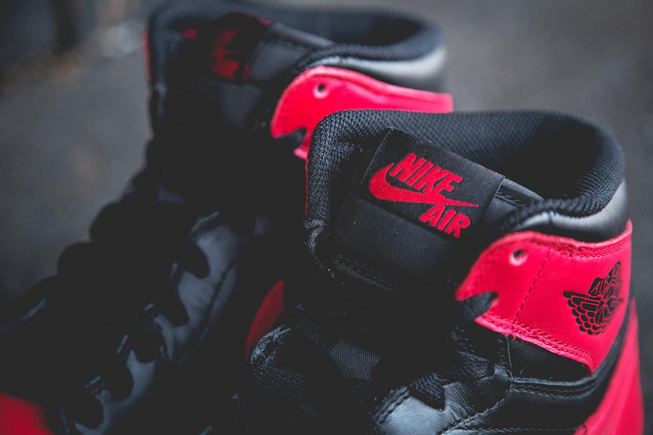 """Air Jordan 1 Retro """"Bred"""" Preview"""