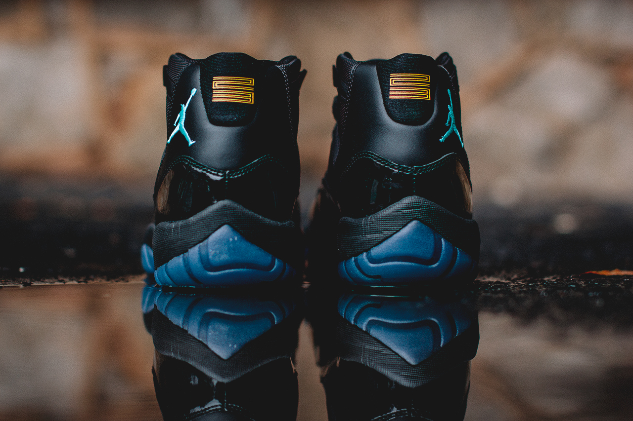 ... air jordan retro 11 gamma blue mint green ...