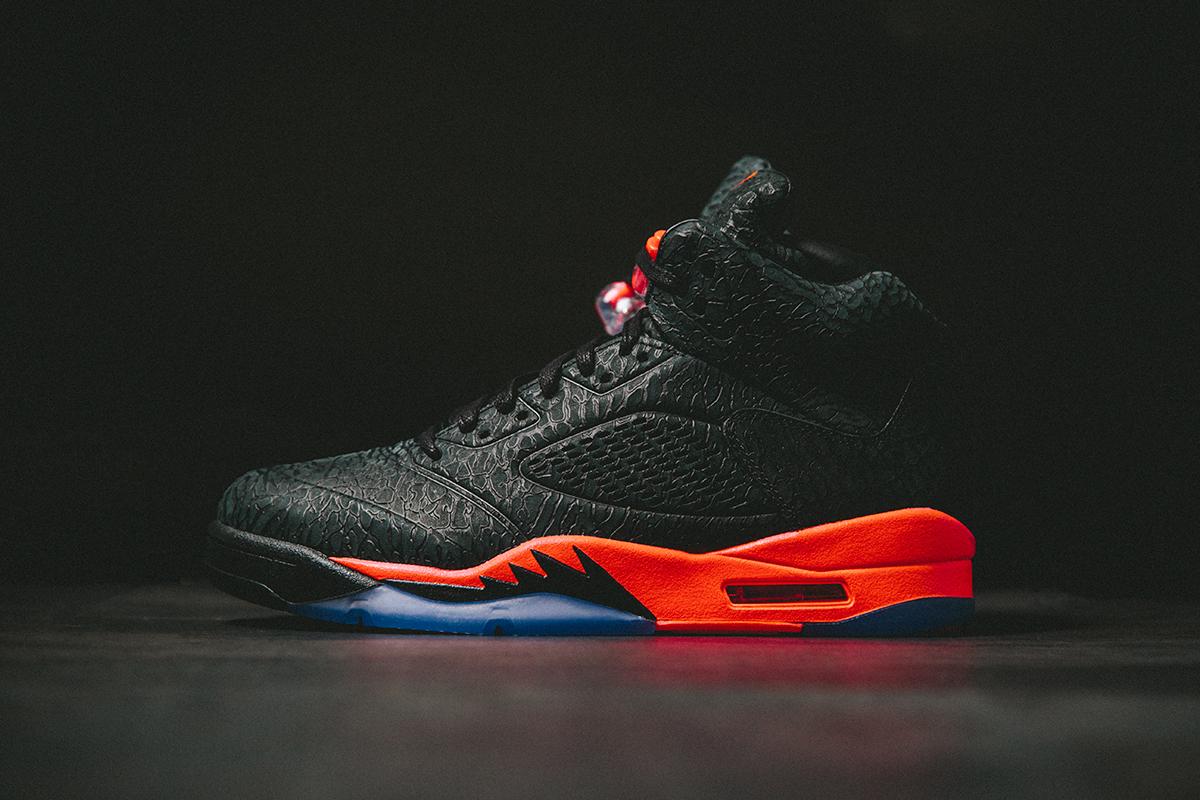 "Air Jordan 5 Retro 3Lab5 ""Black Infrared"""