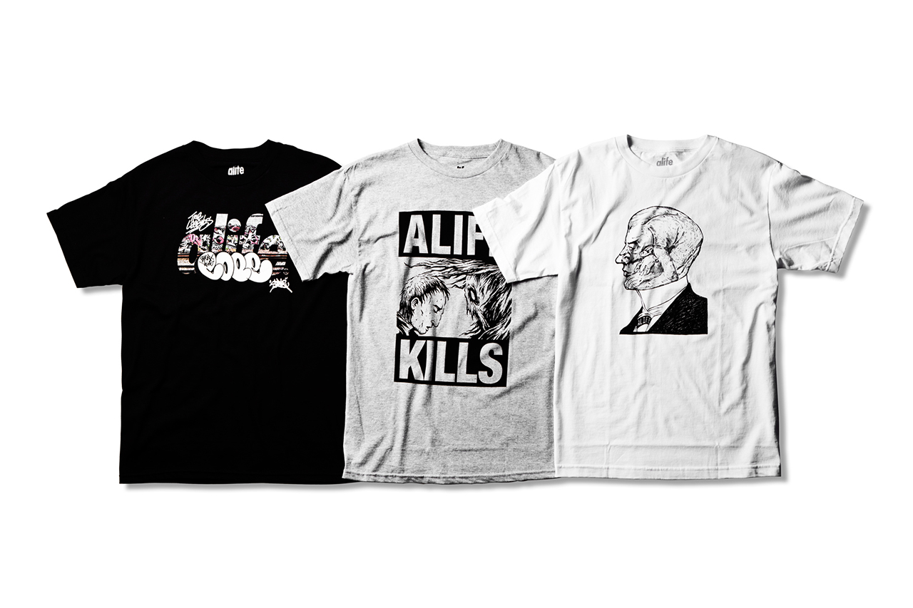 ALIFE 2013 Fall/Winter T-Shirts