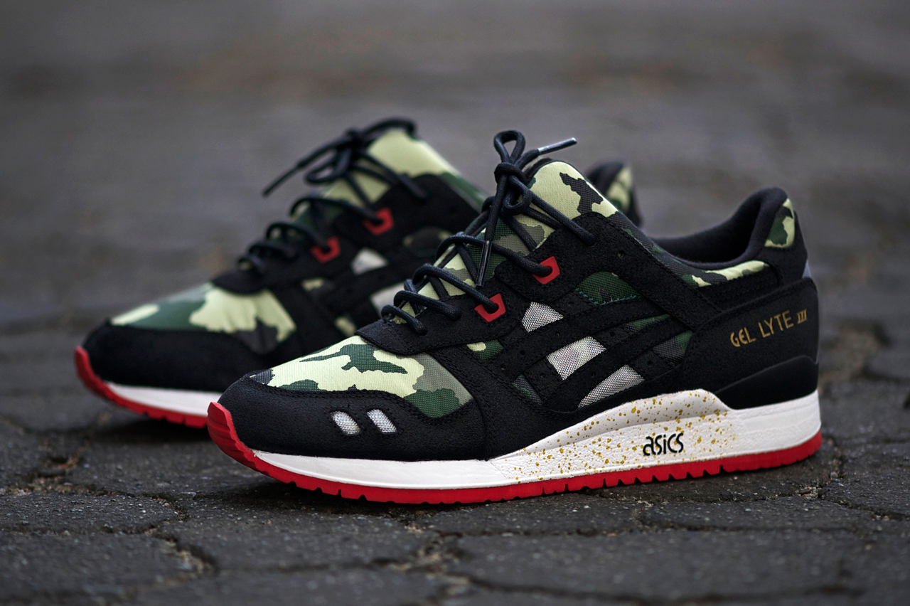 """An Exclusive Look at the BAIT x ASICS Gel Lyte III """"Basics Model-001 Vanquish"""""""