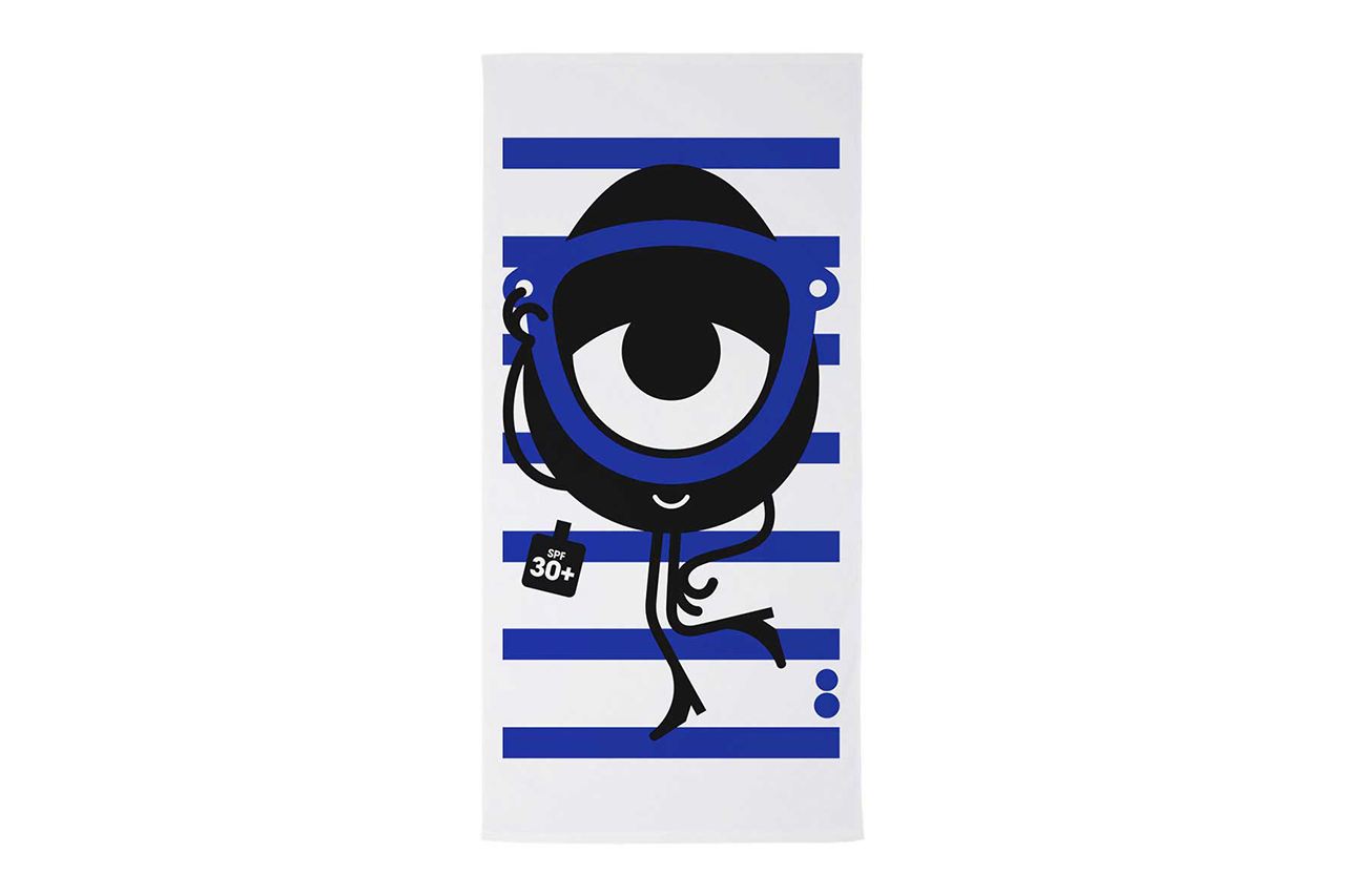 art basel x colette art drive thru capsule collection