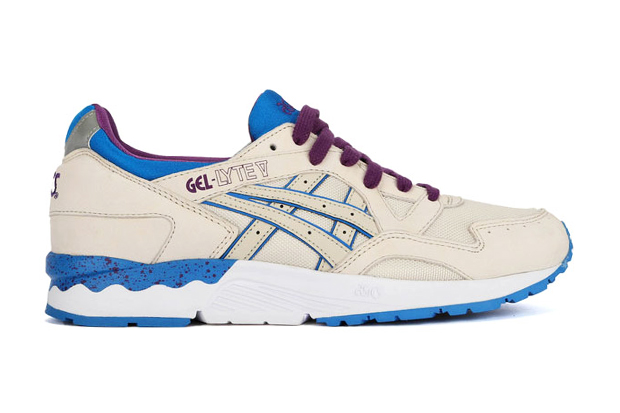ASICS Gel Lyte V Off White/Purple
