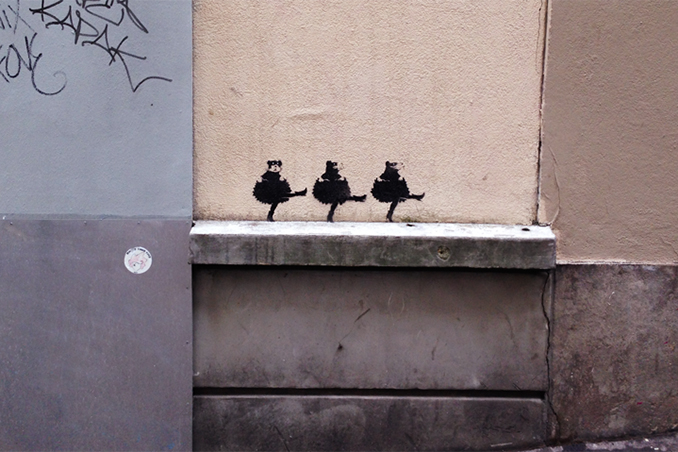 "Banksy Launches ""Back to the Roots"" Residency in Paris?"