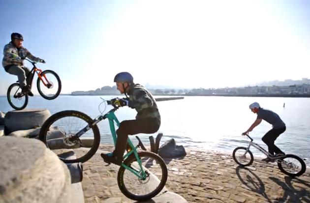 Trials Biking on the Streets of San Francisco