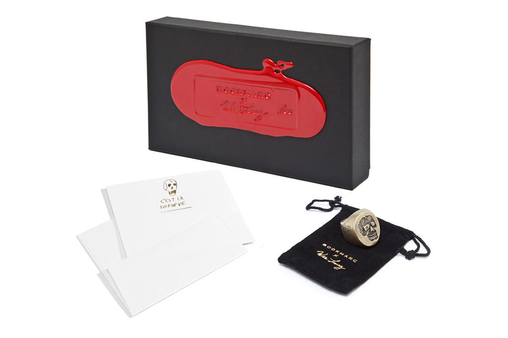 Bookmarc x Wes Lang 14K Gold Leaf Stationery and Box