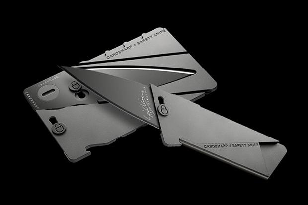 Ian Sinclair CardSharp 4 Metal Credit Card Folding Knife