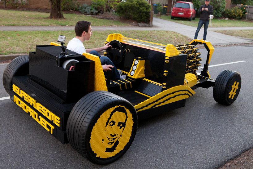 check out this full scale air powered lego hot rod