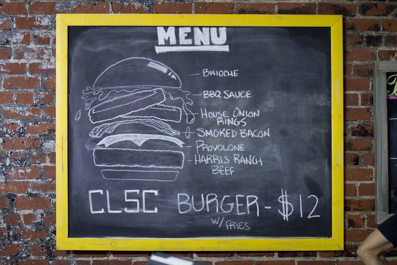 clsc teams up with the golden state on the limited edition clsc bbq burger