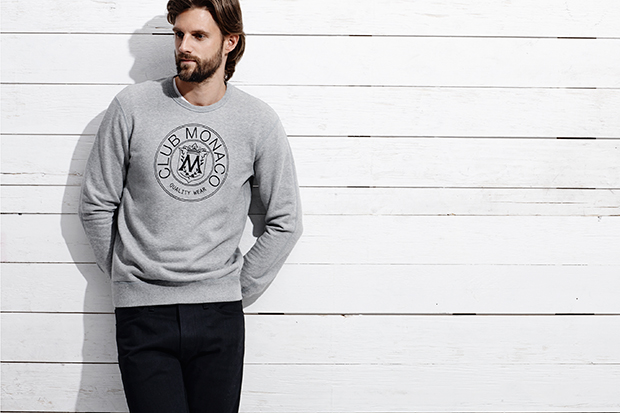 Club Monaco x Reigning Champ 2013 Holiday Capsule Collection Preview
