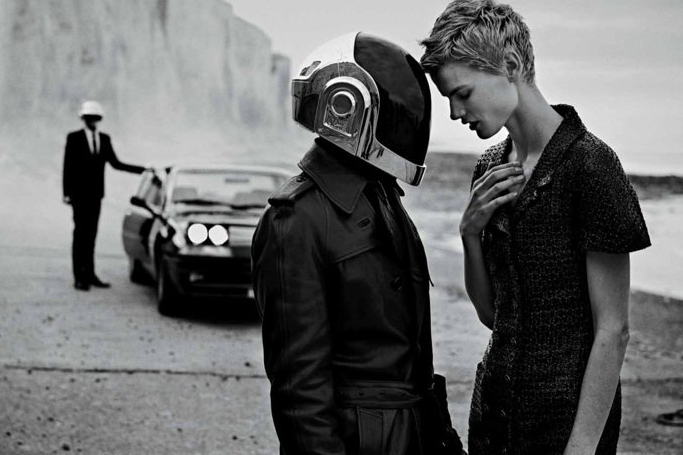 Daft Punk Stars in Editorial for M Le Monde