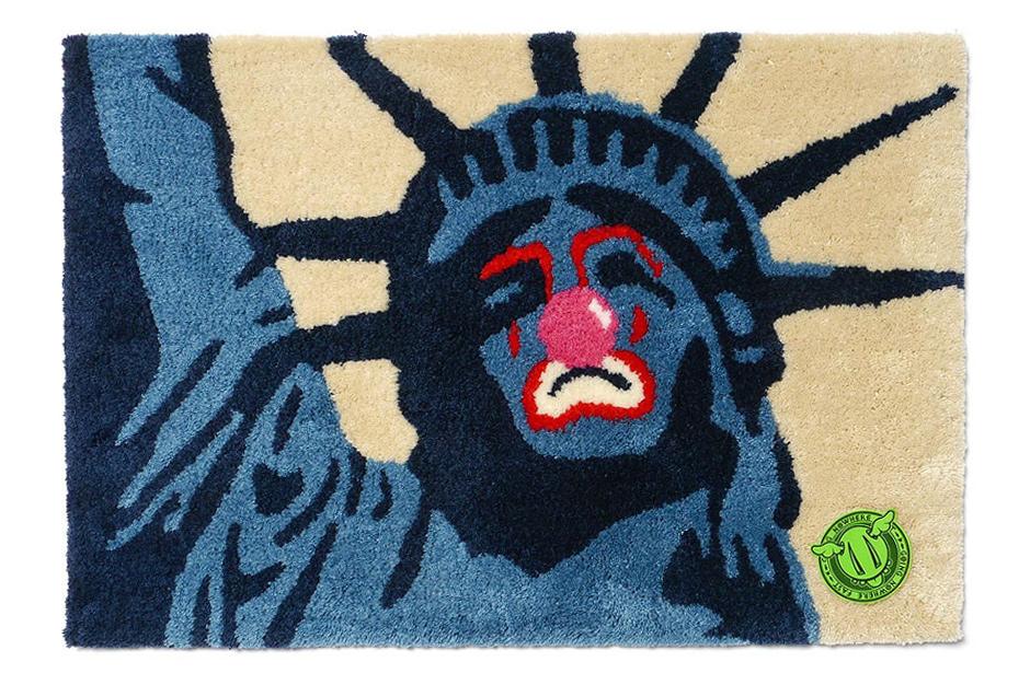 D*Face x Sync. Sad Liberty Rag Mat