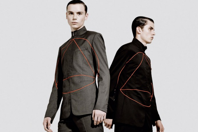 "Dior Homme 2013 Fall/Winter ""Binary"" Editorial by Neil Bedford"